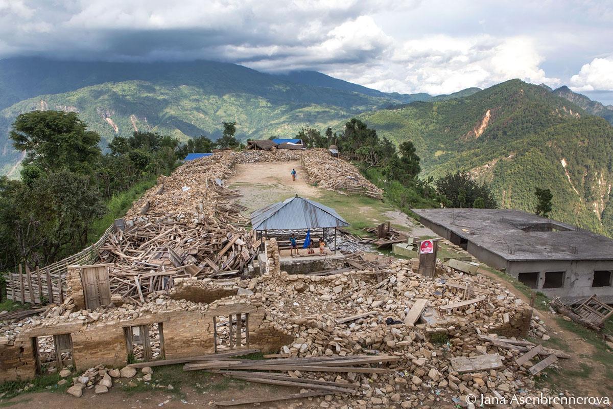 Earthquake aftermath - Nepal