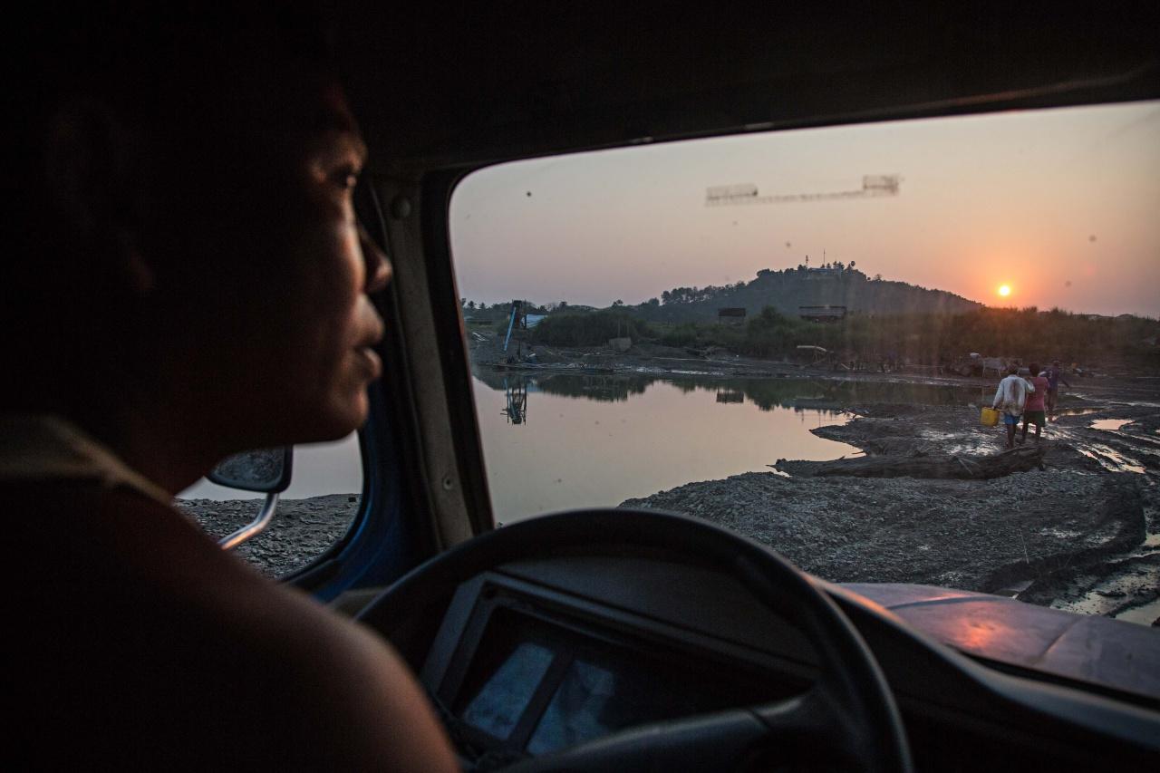 Sand Mining - Myanmar