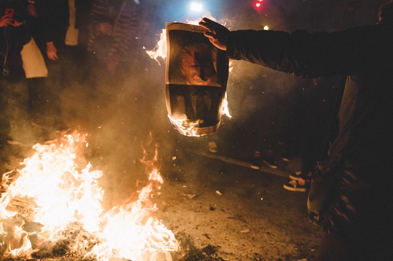 Bonfire Protest