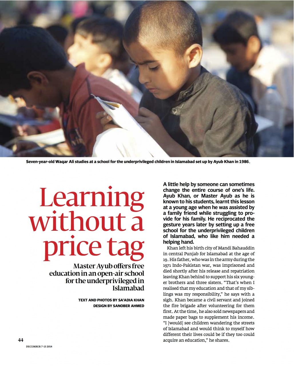 Learning Without a Pricetag