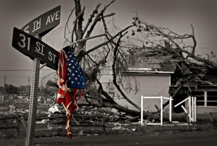Tuscaloosa, Alabama tornado damage