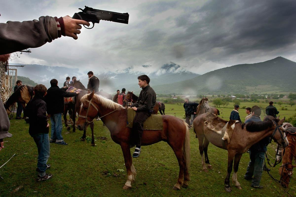 Chechen refugee settlement