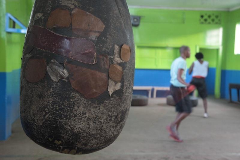 19 year-old aspiring boxer Muktor Roba