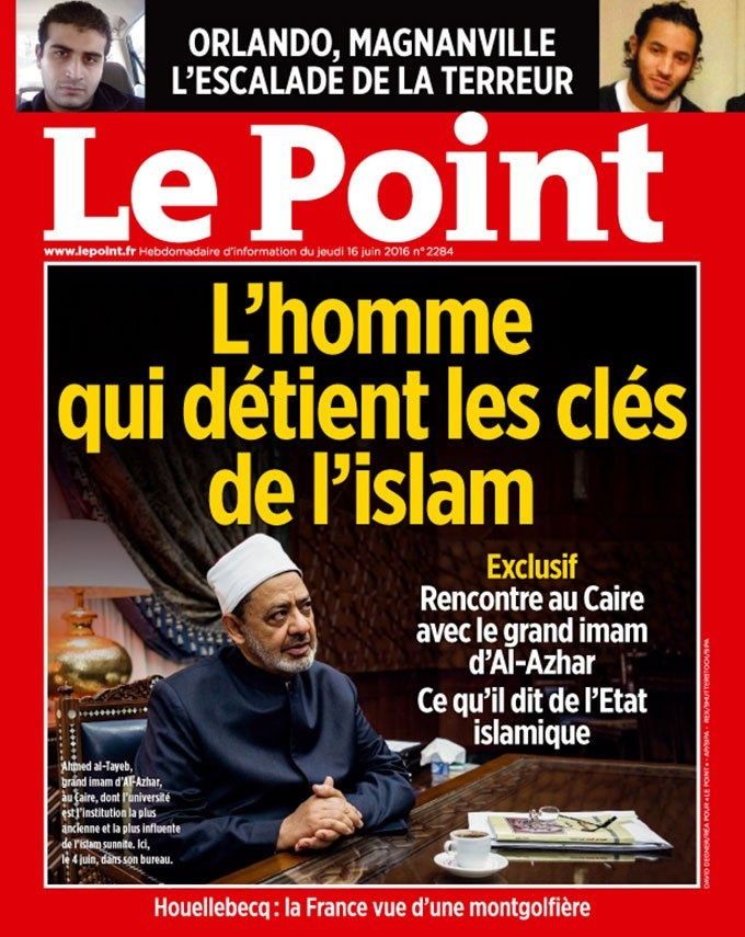 Al-Azhar for Le Point