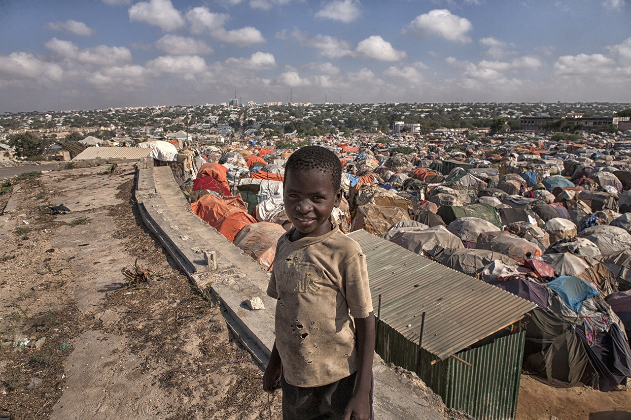 Inside Somalia's Refugee Camp