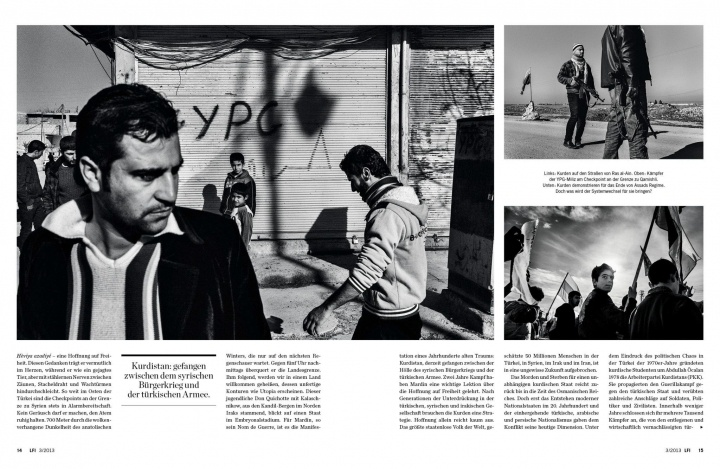 Tearsheet: Kurdish Winter. Leica Magazine