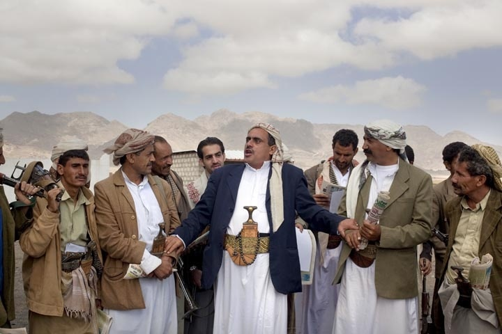 Tribes Cheikhs in Yemen
