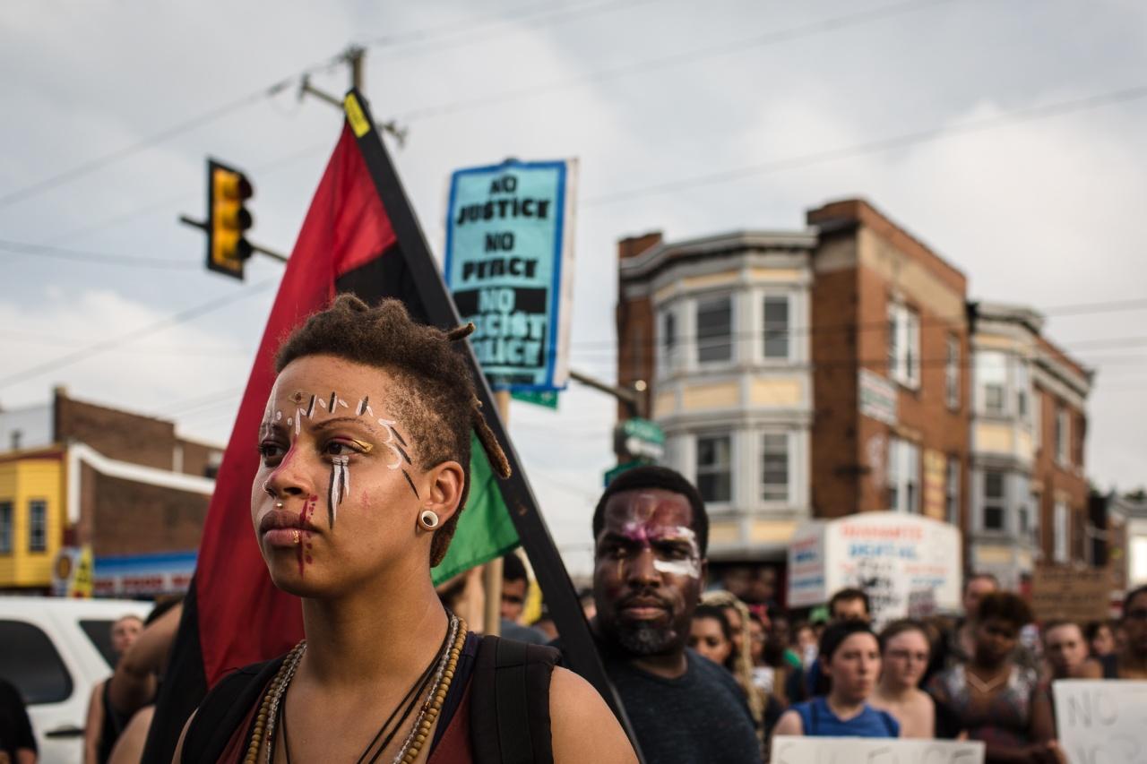 Black Lives Matter   Philadelphia   July 9, 2016