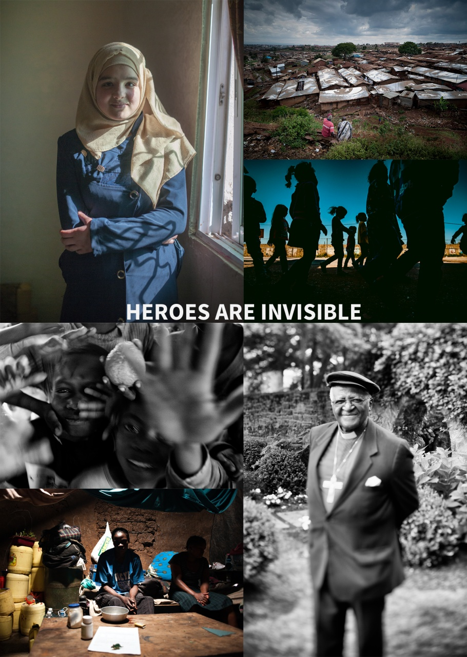 heroes are invisible
