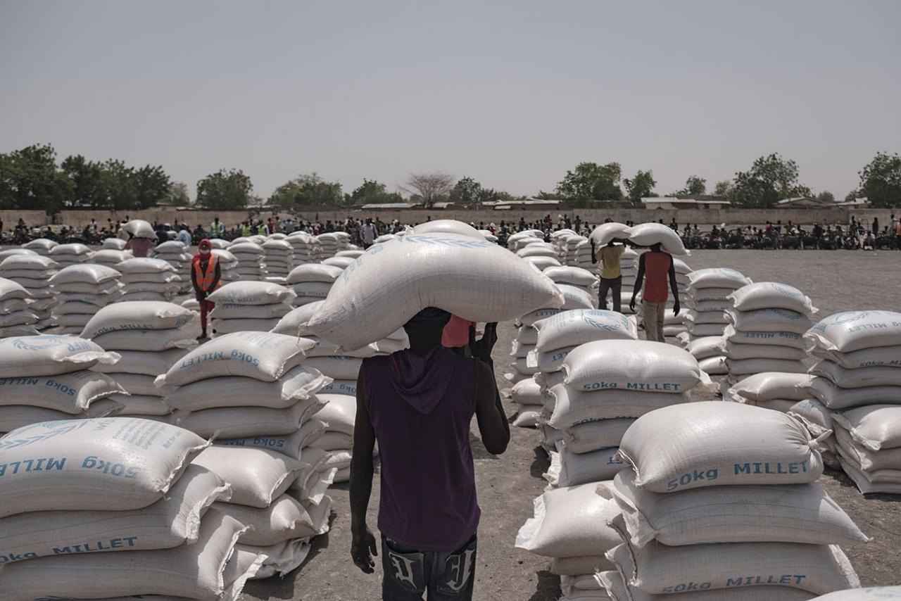 Food Distribution, Nigeria