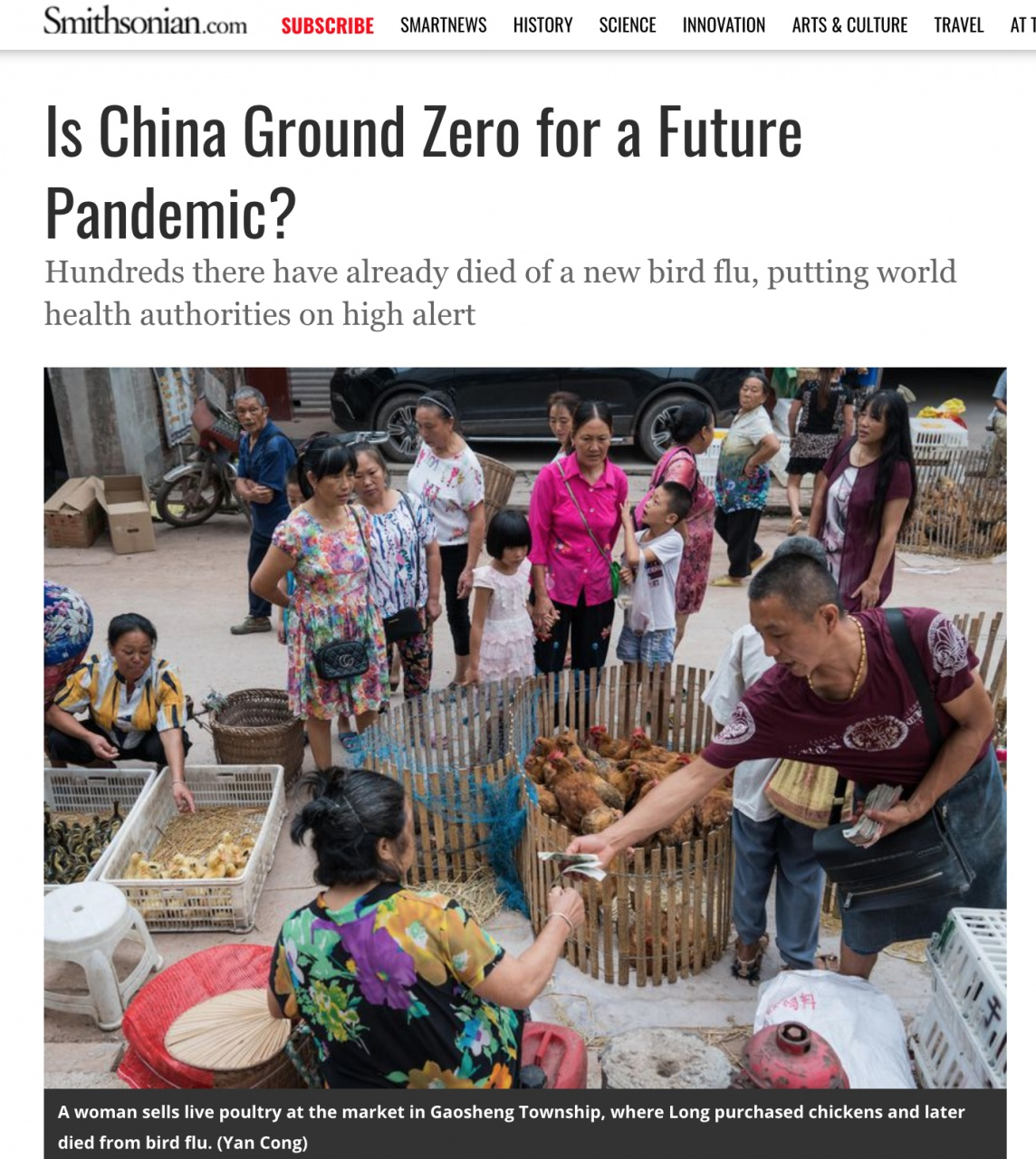 Is China Ground Zero for a Future Pandemic?