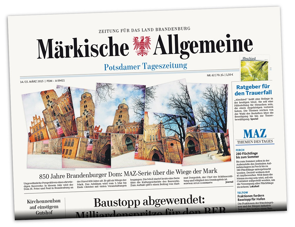 850 Years of Brandenburg Cathedral