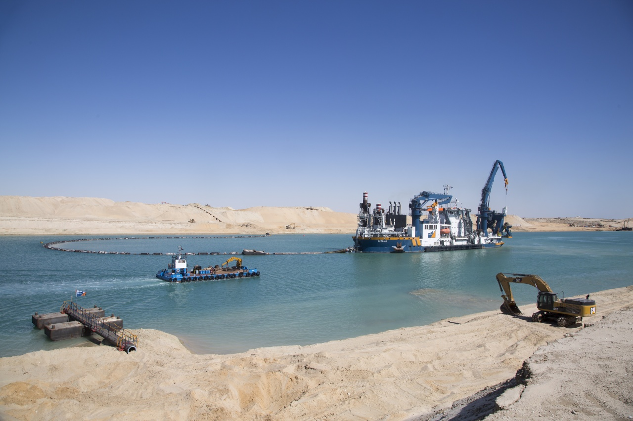 The new Suez Canal, 2015