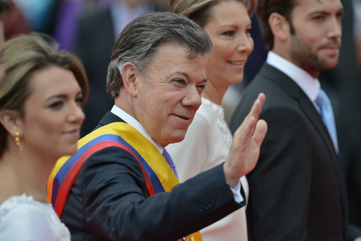 Presidential Inauguration Colombia