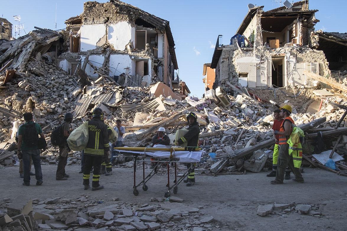 Deadly Earthquake - Amatrice