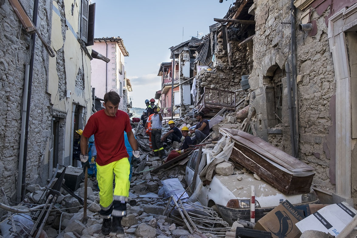Deadly Earthquake - Amatrice