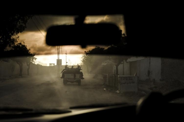 Driving Through Mogadishu