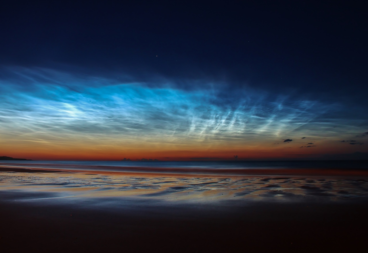 Sunderland Noctilucent Clouds