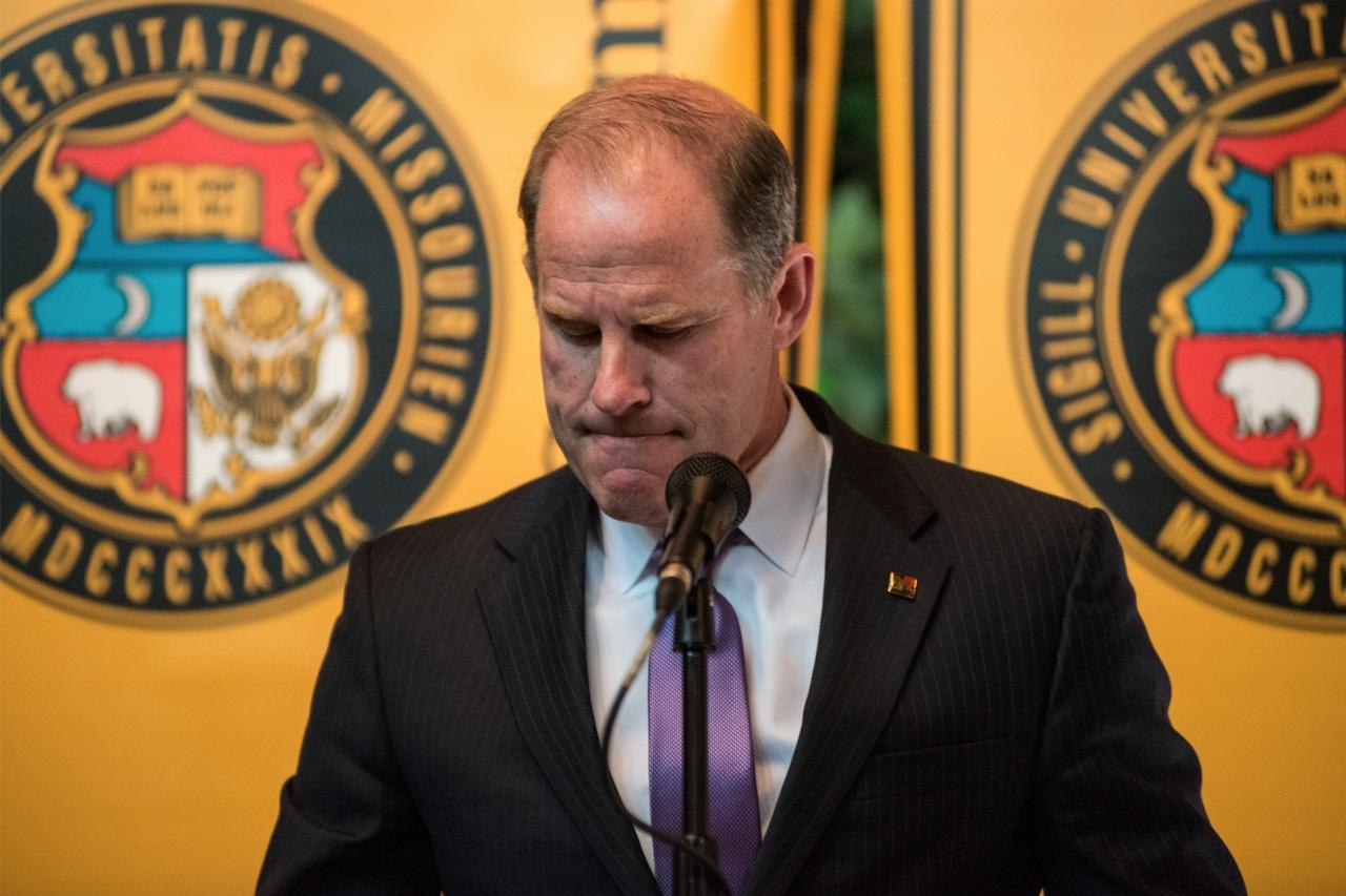 UM System President Tim Wolfe Resignation