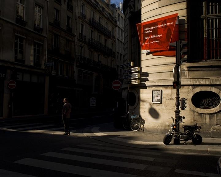 Crossing Paris #16, Paris