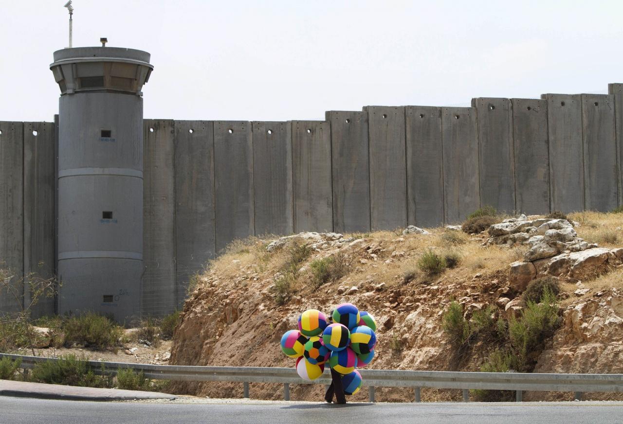 Palestinian peddler Hizme Checkpoint,  Jerusalem