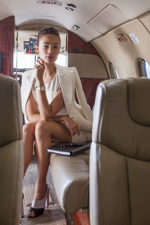 Fashion spread for Corporate Travel magazine