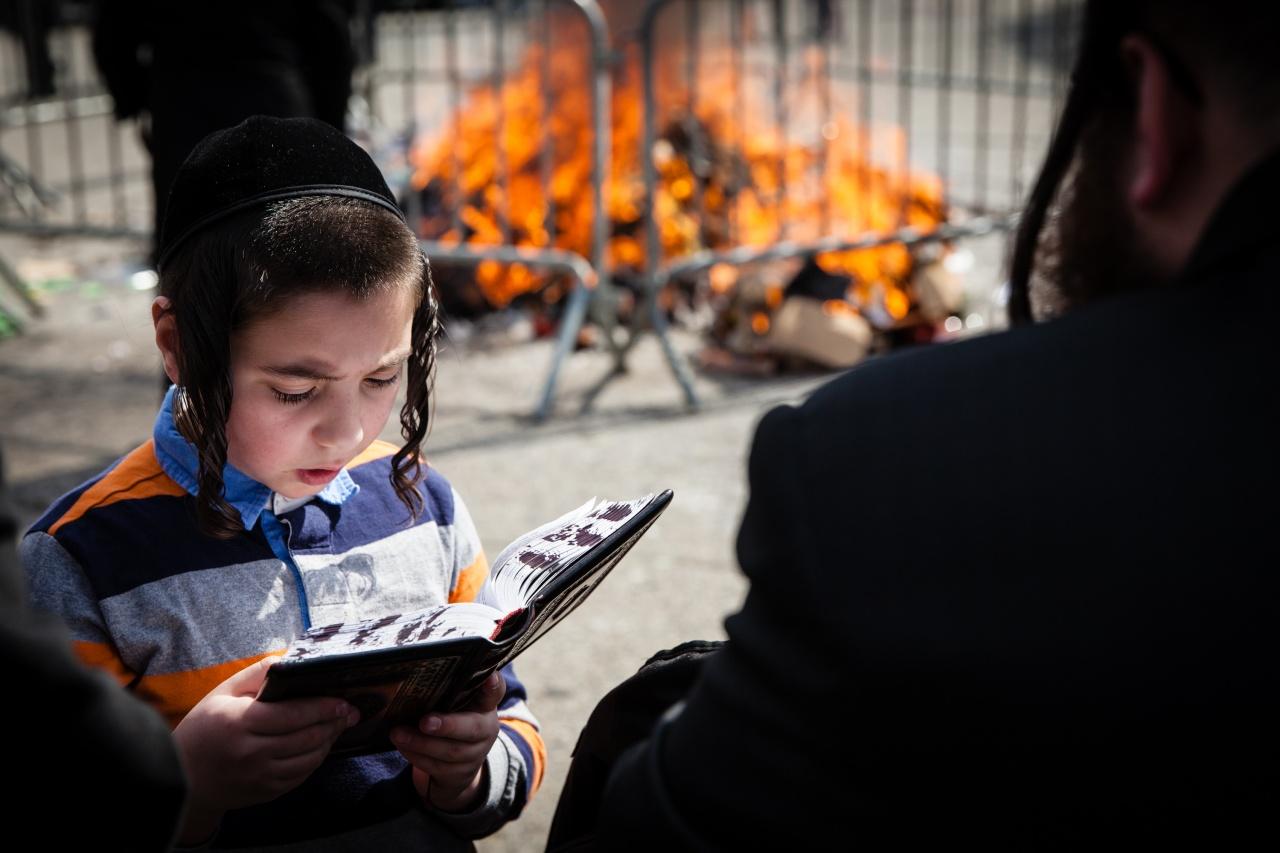 Passover Burning Ritual