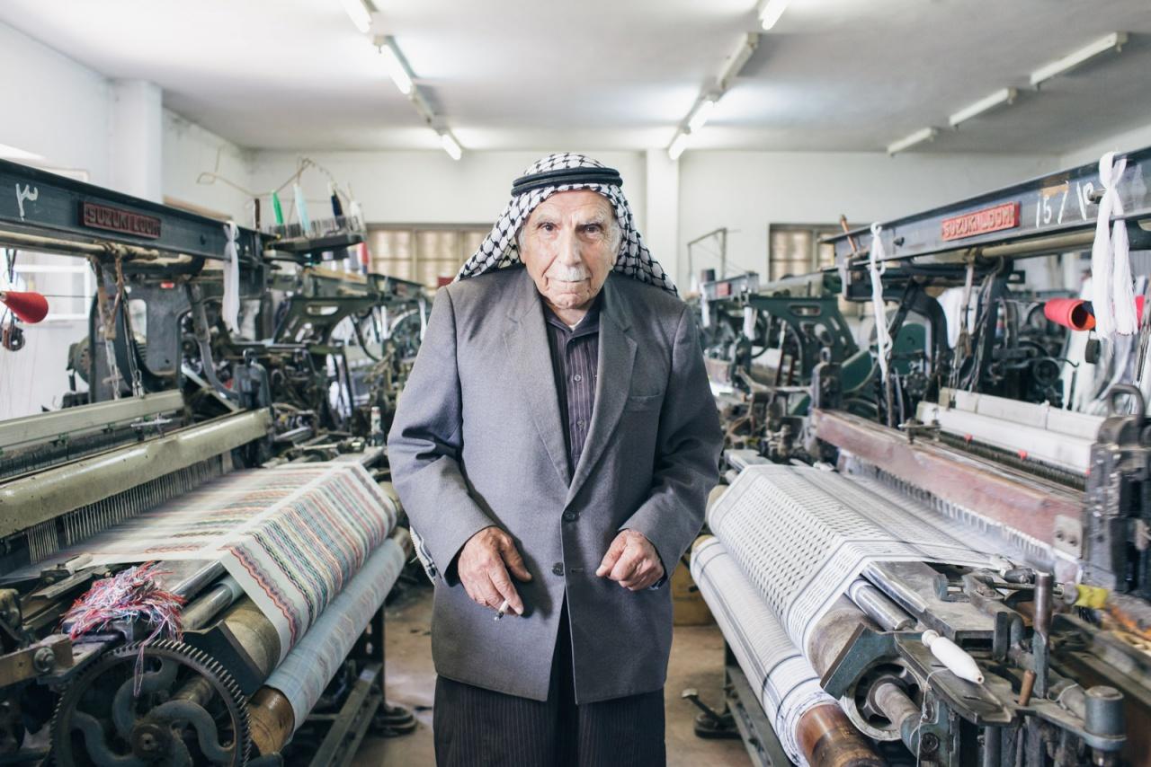 Keffieh made in Palestine