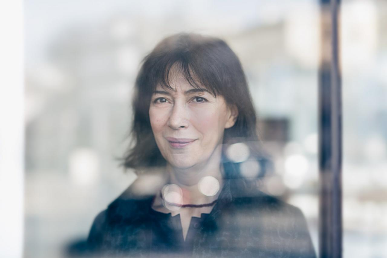 Portrait d'Anne Alvaro, actrice