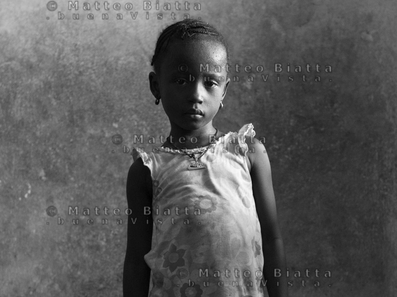 Ebola orphanes in Sierra Leone