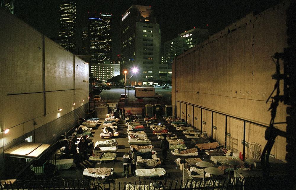 Skid Row, LA