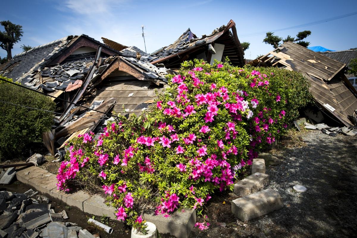 Kumamoto Earthquake Magnitude 7.3