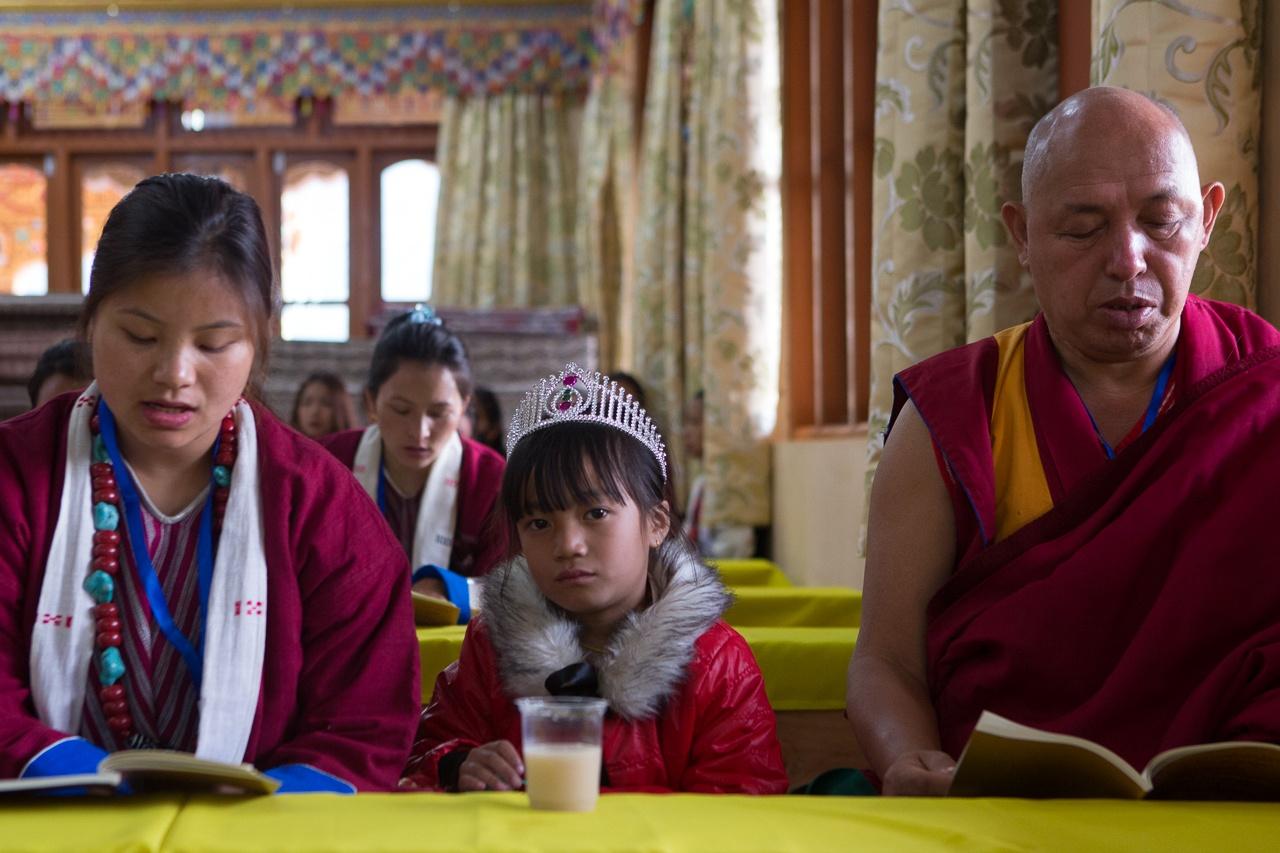 Morning Prayer, Thupsung Dhargyeling Monastery