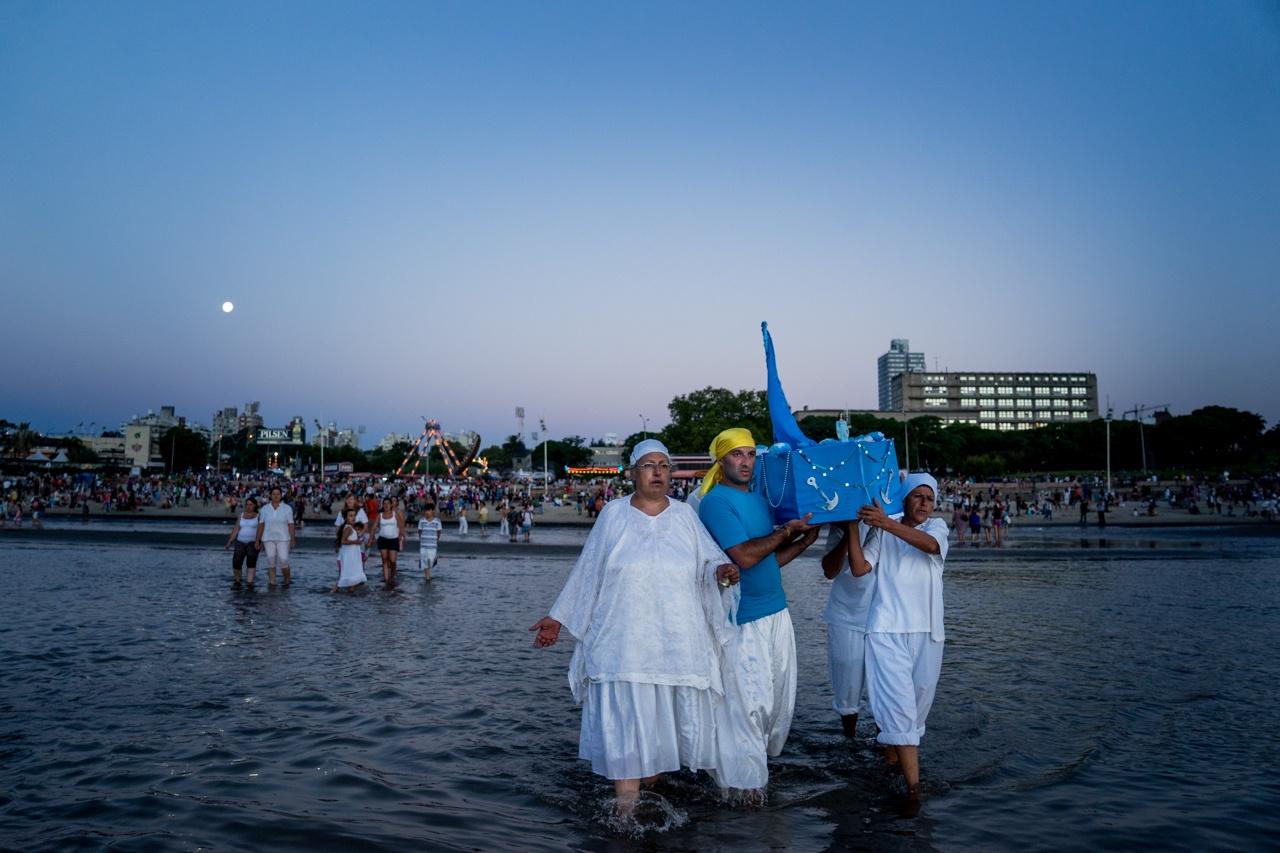Iemanja celebration- Montevideo