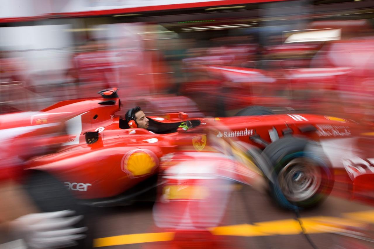 Ferrari, pit stop