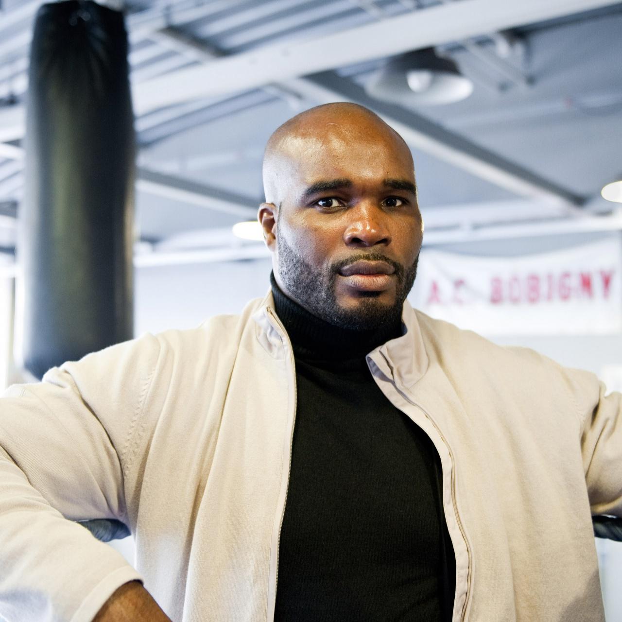 world champion boxer Jean-Marc Mormeck