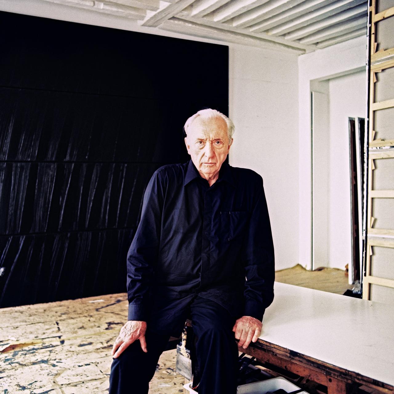 Painter Pierre Soulages