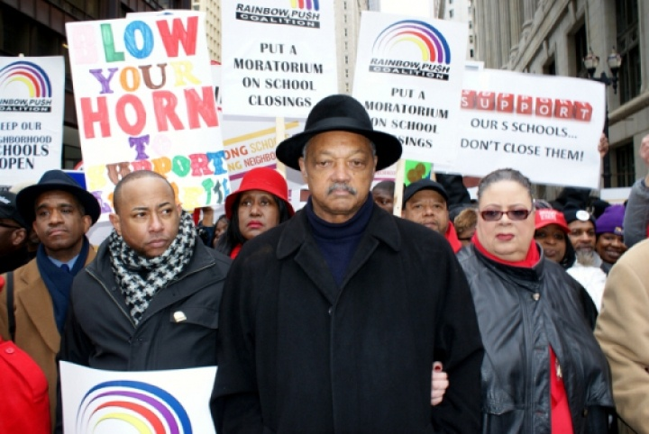 Chicago School Closings Protest – 3/27/2013