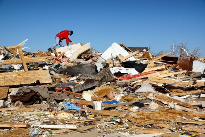Midwest Tornado Damage – Washington, Illinois