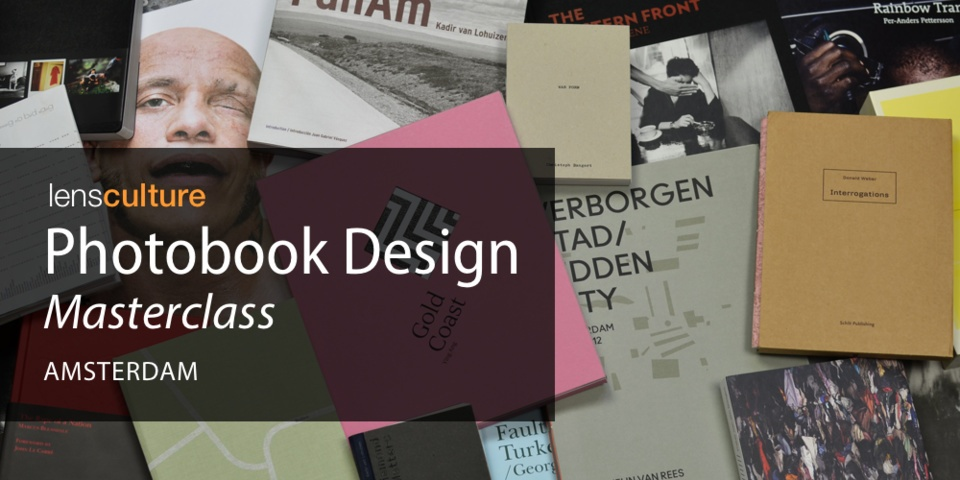 Photobook Design Masterclass Amsterdam