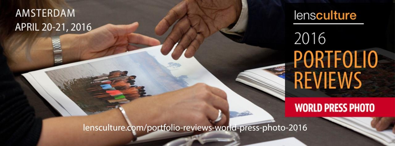 LensCulture / World Press Photo Portfolio Reviews