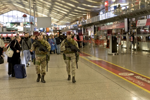 Terrorism  new security plan to Rome