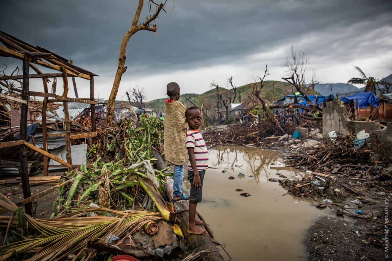 Hurricane Matthew - South of Haiti