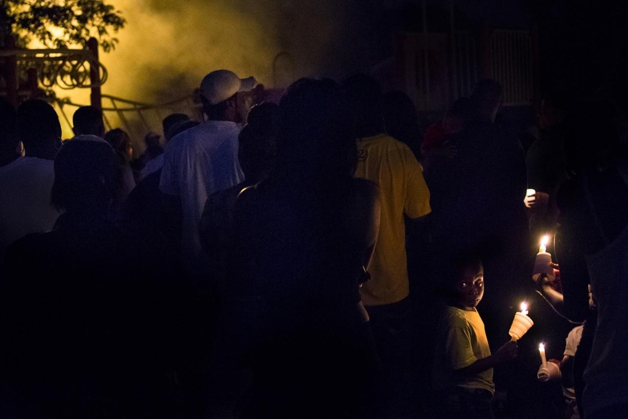 Flint Homicide Vigil