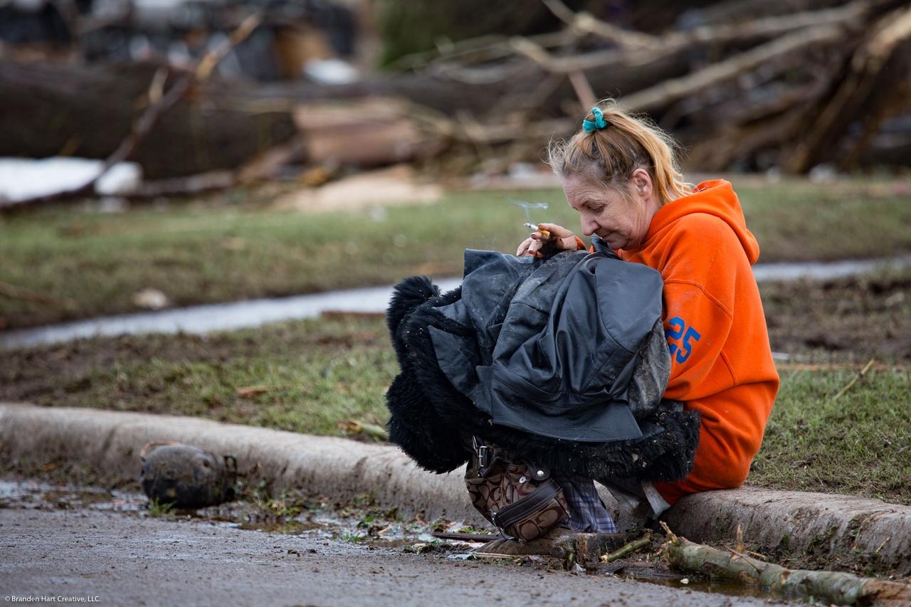 Tornado Aftermath. Moore, OK May 20th 2013