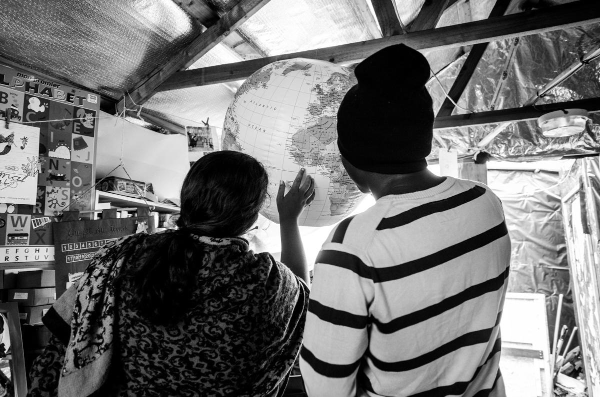Calais : Refugee Camp