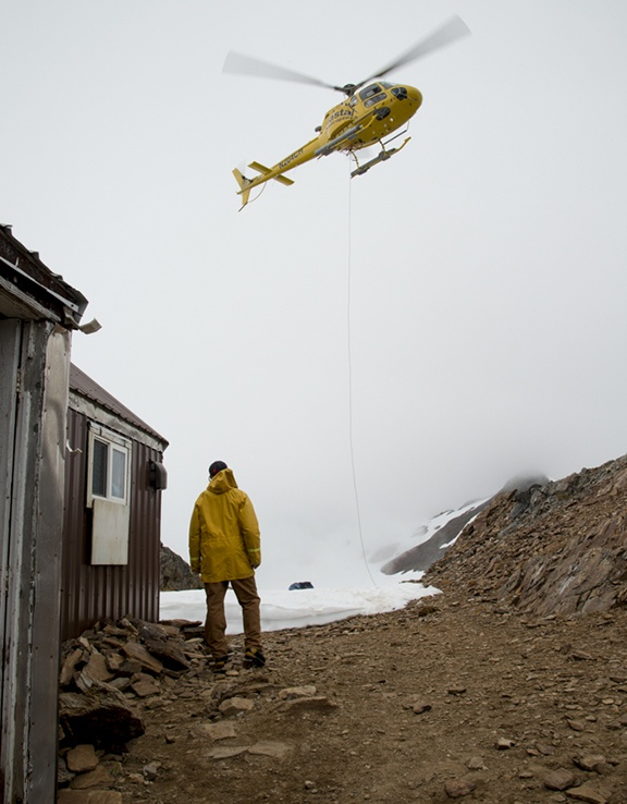 Camp 17, Juneau Icefield Research Project