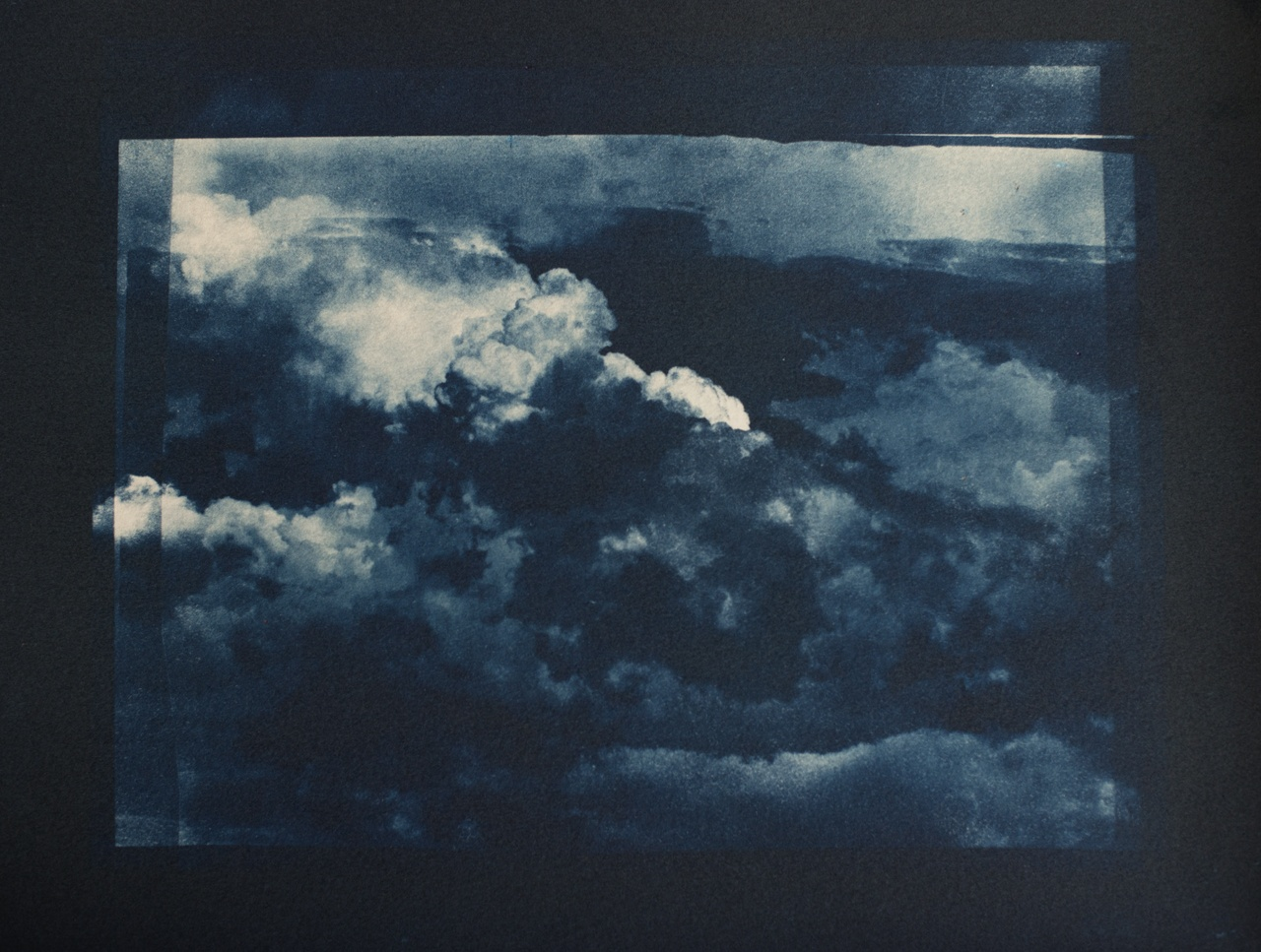Cyanotype Cloud Series