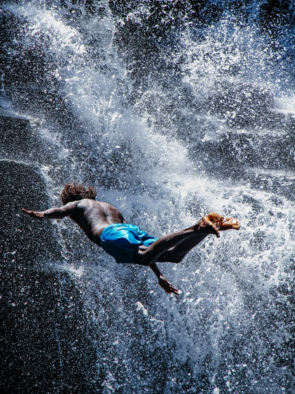 Cliff Jumping, Mauritius