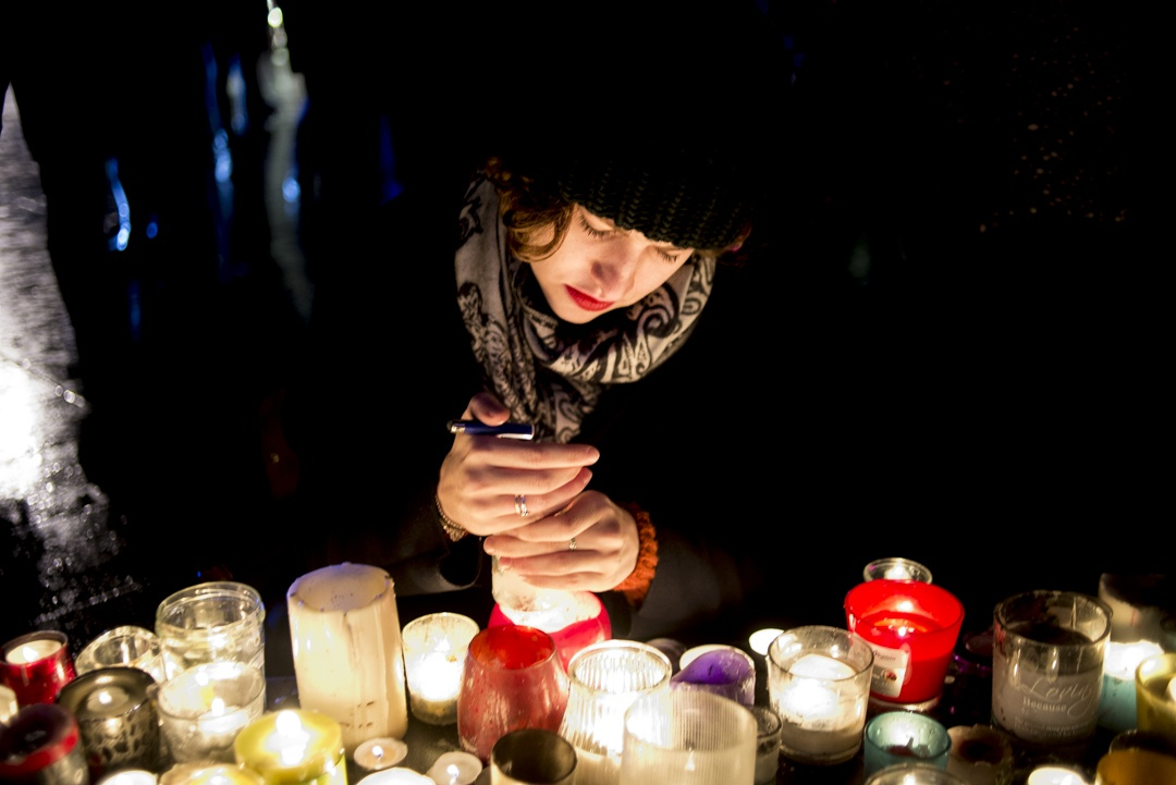 Je Suis Charlie Anniversary, Paris Jan 2016